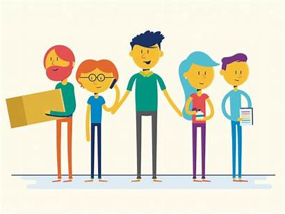 Meet Animation Workers Employees Office Dribbble Character