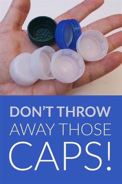 Bottle Plastic Crafts Cap Caps Diy Projects