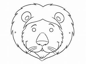 Image Gallery lion face template