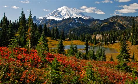 Mount Rainier, Best Fall Hikes, Events, Festivals And