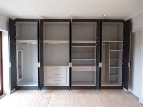 Sliding Door Wardrobe Cabinet by White Gloss Acrylic Built In Wardrobe With Sliding Door