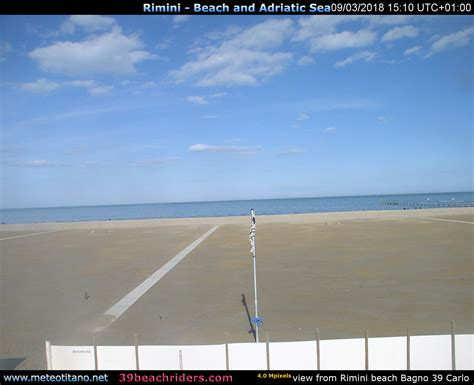Rimini  Bagno 39  Meteo Webcam