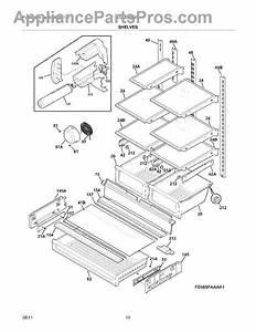 Parts For Frigidaire Lgub2642lf4  Shelves Parts
