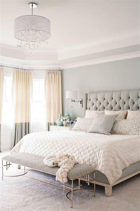 chambre clair décoration chambre gris clair