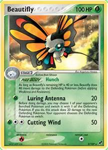 Beautifly - EX Deoxys #2 Pokemon Card