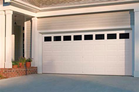 traditional style raised panel steel garage door sales installation service garage door