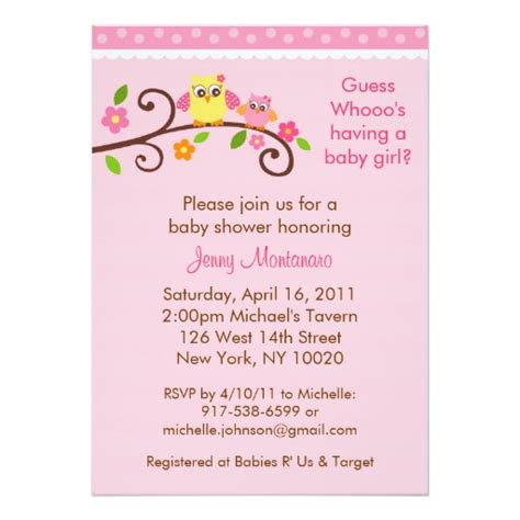 chambre fille et gris modele invitation shower de bebe document