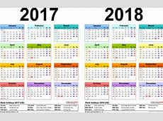 2018 Calendar Uk free calendar 2018