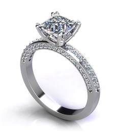 verragio princess cut engagement rings princess cut engagement rings jewelry designs