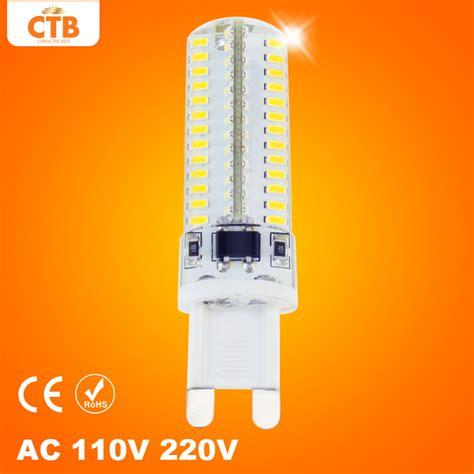 g9 led bulb ac 110v 220v 7w 9w 10w 12w 15w smd 3014