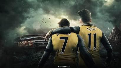 Ozil Mesut Sanchez Wallpapers Alexis Desktop