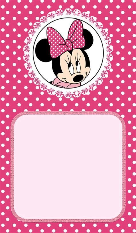 Minnie Mouse Template Invitation by Minnie Mouse Birthday Invitation Invitation Ideas For