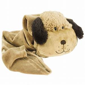 Official pillow pet puppy dog rollup throw childrens kids for Dog pillow and blanket