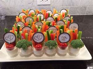 vegetable tray ideas for bridal shower With wedding veggie tray ideas