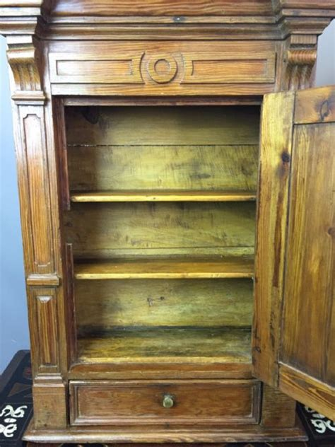 small cabinets for kitchen small continental pitch pine wall cabinet 477261 5358