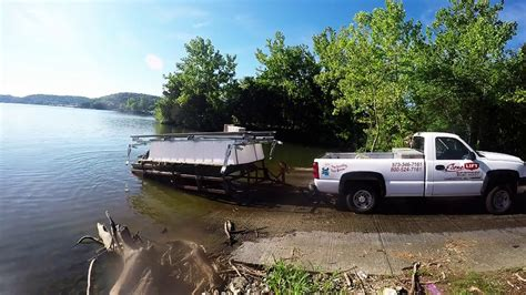 In Water Boat Lift by How To Move A Boat Lift In The Water Econo Lift Crazy