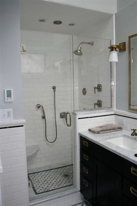 Show Me Bathroom Designs by Tile Designs For Showers Black And White Images