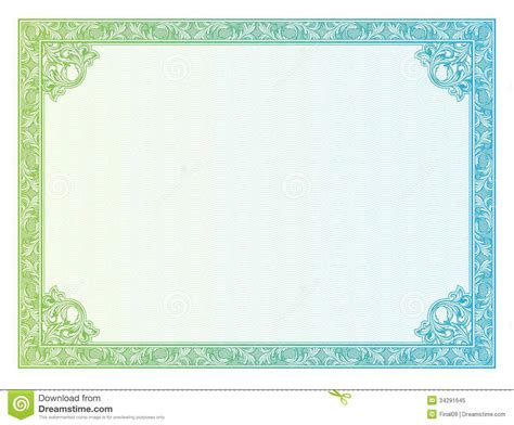 Borders For Certificates Templates by 18 Vector Certificate Border Templates Shotgun Images