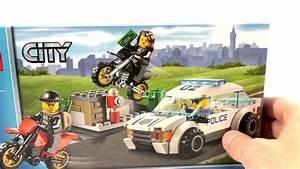 Jeux De Voiture City : lego city poursuite polici re 60042 voiture de police criminels kit lego unboxing fran ais ~ Medecine-chirurgie-esthetiques.com Avis de Voitures