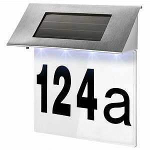 Hausnummer Mit Beleuchtung : solar hausnummer beleuchtung hausnummer beleuchtet hausnummernleuchte edelstahl 4260505440107 ebay ~ Eleganceandgraceweddings.com Haus und Dekorationen