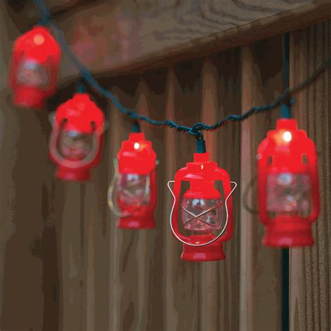 lantern outdoor string lights