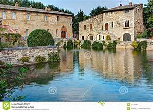 Bagno Vignoni Stock Image  Image Of Antique  Relax  Middle