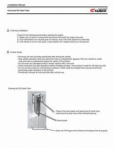 Oil Catch Tank Installation Guide Manual English Page Cusco