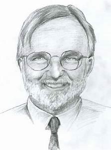 Bearded Man Drawing