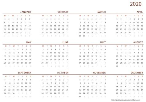 calendar printable template printable calendar template