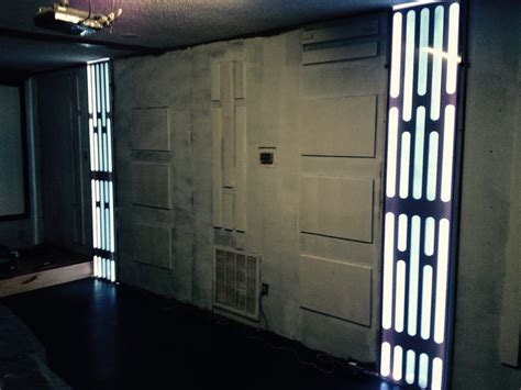 star wars death star mancave  steps