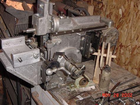metal working machines homemade lathe milling machine