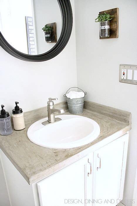 remodelaholic  easy diy bathroom projects