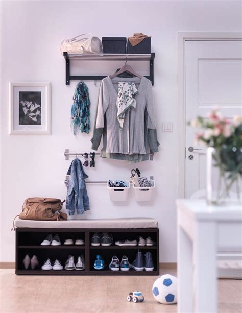 Mobili Per Ingressi Ikea Ikea Soluzione Ingresso House Nel 2019
