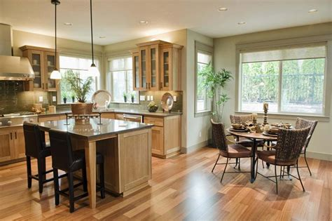 Ideas For Open Kitchen And Dining Room by 29 Awesome Open Concept Dining Room Designs