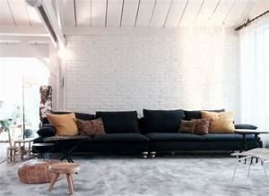 Canapé Chez Ikea : le relooking parfait d 39 un canap ikea billie blanket ~ Teatrodelosmanantiales.com Idées de Décoration