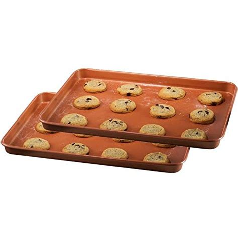 red copper brownie bonanza pan  bulbhead includes recipe guide tookcook