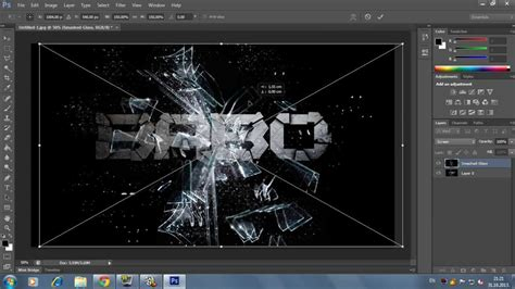 cool text effect in photoshop cs6 tutorial