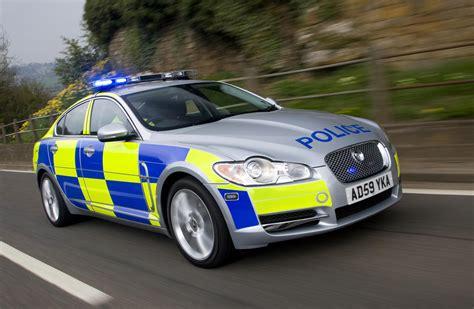 British Police Choose Jaguar Xf For Patrol Duty