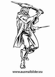 Ausmalbilder Pirat Am Ausholen Piraten Malvorlagen Ausmalen