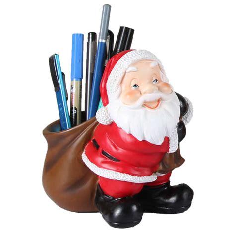 santa claus desk decoration pencil holdertoothpick holder
