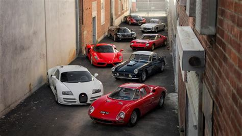 For Sale £43 Million Private Car Collection