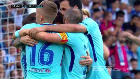 Barcelona goleó 6-0 a Alavés y marcó 4 tantos en 9 minutos: Lionel Messi hizo el tercero - LA NACION