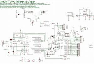 Arduino Uno Board Circuit Diagram