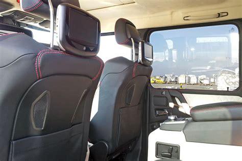 mercedes benz g class 6x6 interior two 6 wheeler mercedes benz g63 amg trucks headed for the
