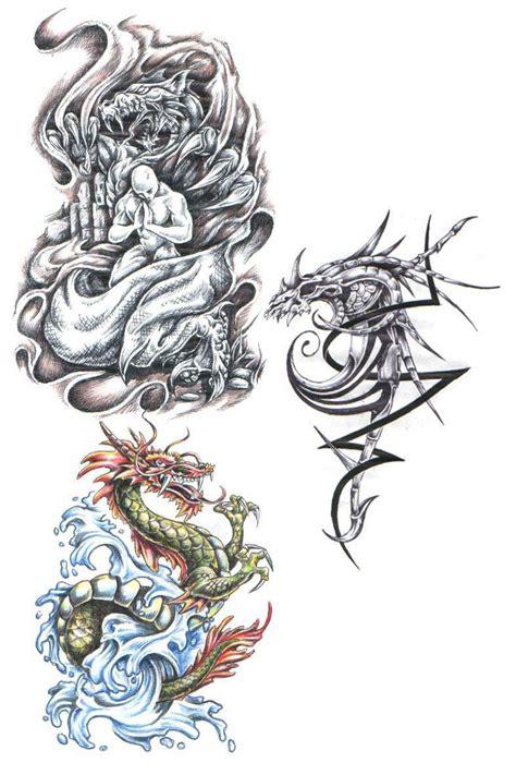 tattoos dragon tattoo stencils
