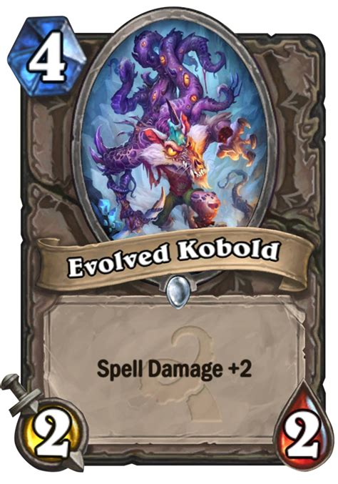 Top Tier Decks Hearthstone by Evolved Kobold Hearthstone Card