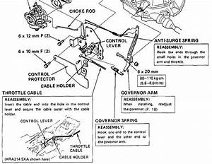 Briggs And Stratton Throttle Linkage Diagram Placement