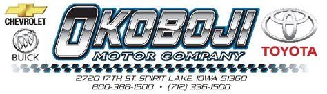 okoboji motor company spirit lake ia reviews deals