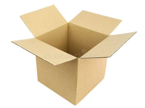 Open Box Stock Image. Image Of Packaging, Corrugated, Pack