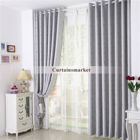 wide window curtains wide white horizontal blind